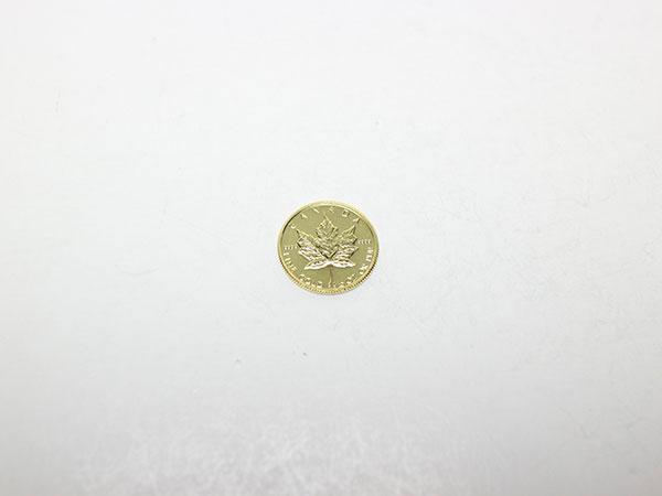 カナダメイプルリーフ1/10オンス5ドル金貨の買取