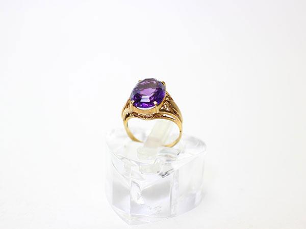 アメジストの指輪の買取